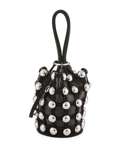 0a3358acdf03 ALEXANDER WANG Roxy Mini Cage Bucket Bag