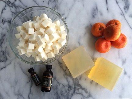 Bergamot Vanilla Soap 2