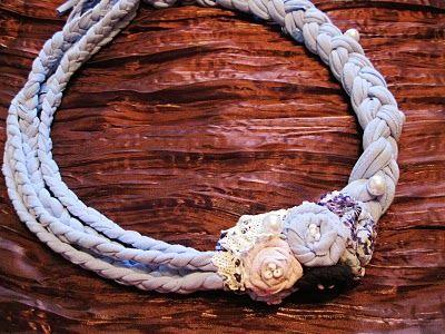 Tee Shirt Necklace