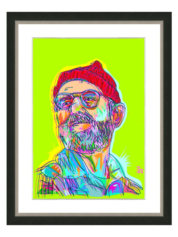 Zissou Print (Framed) by Art Source LTD Art inspiration
