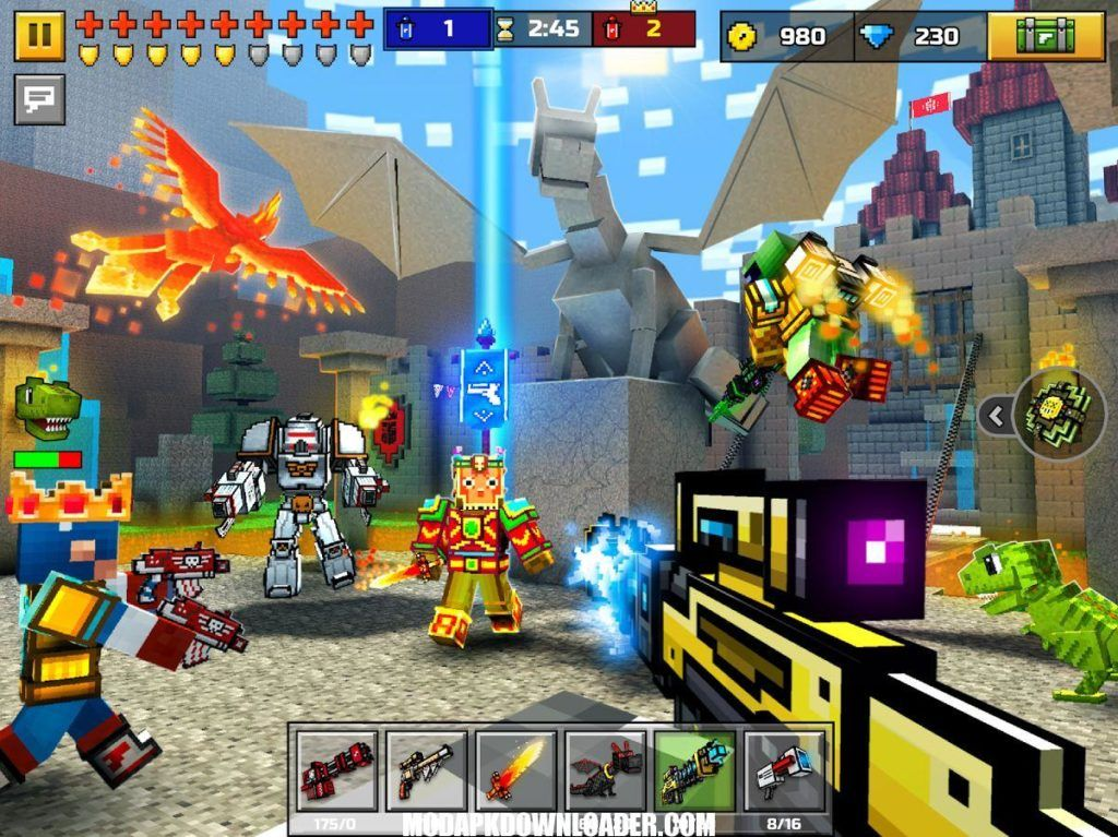 Pixel Gun 3D Mod Apk Download   Modded Games   Shooting