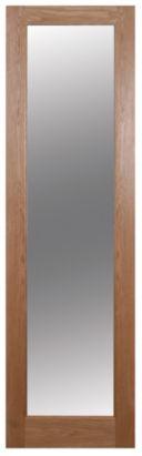French 1 Lite Shaker Clear Glazed Oak Veneer Door, (H)1981 (W)579mm, 5397007102383