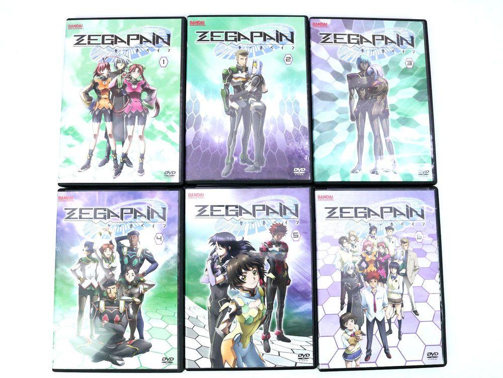Zegapain Complete Vol 1 2 3 4 5 6 Discs (DVD, 20062008