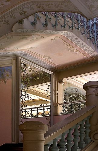 Riviera Palace Staircase, Beausoleil by Rita Crane Photography, via Flickr