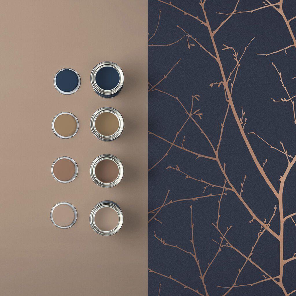 Boreas Midnight Wallpaper | Blue Wallpaper