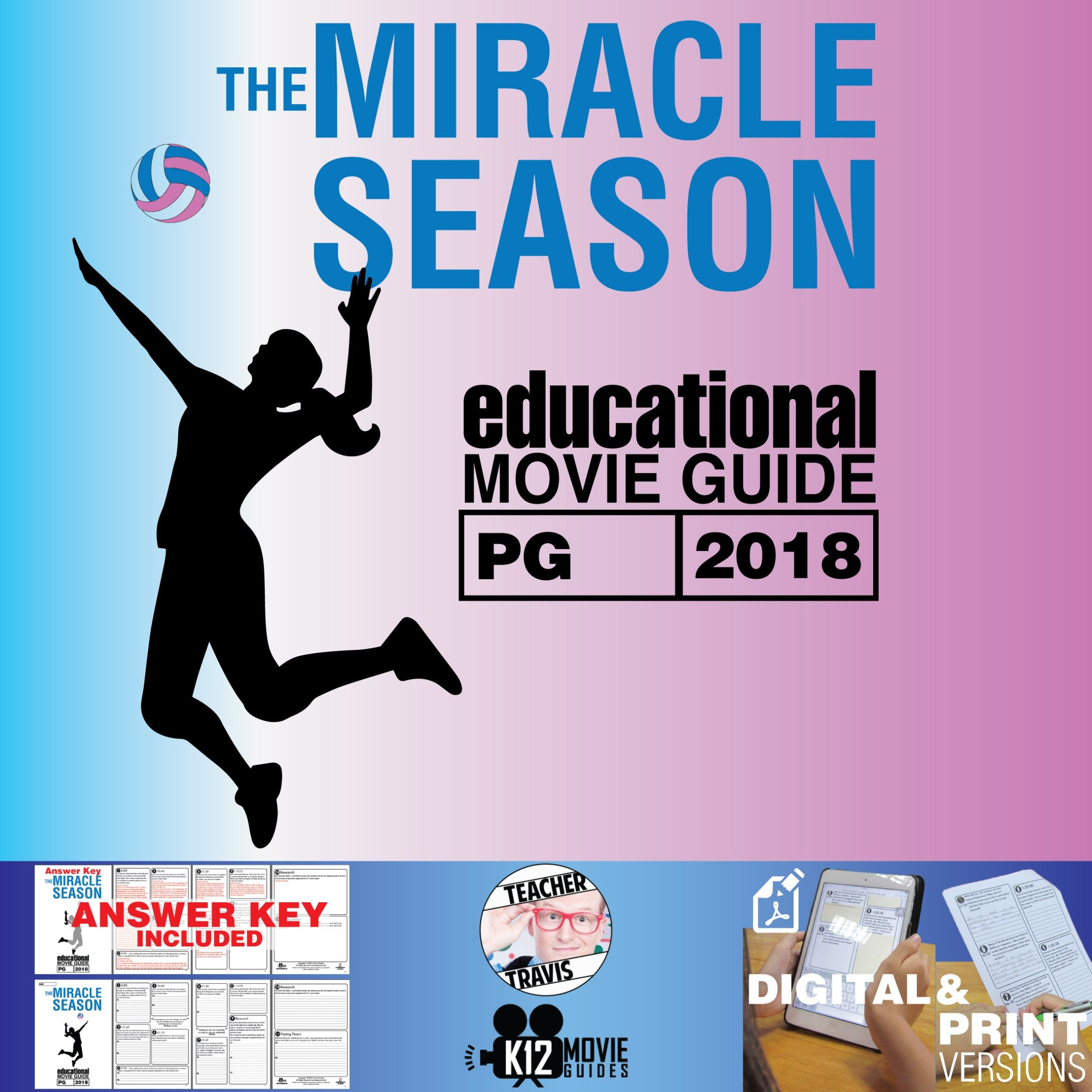 The Miracle Season Movie Guide