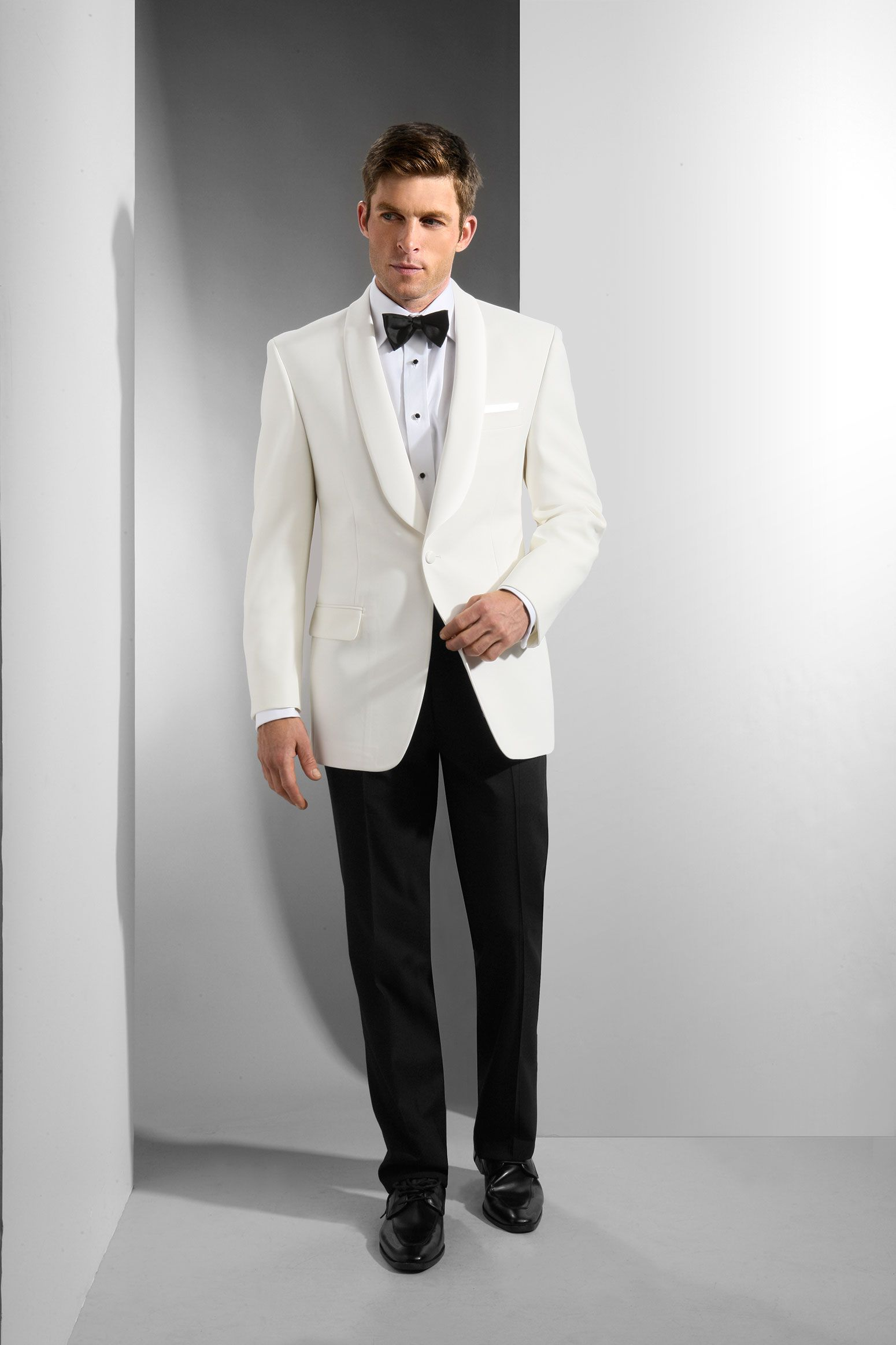 Men s White Shawl Dinner Jacket  0ff5dd421