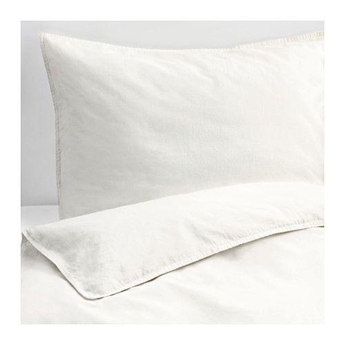 Angslilja Duvet Cover And Pillowcase S White Twin Ikea Bed Linens Luxury Luxury Bedding White Linen Bedding