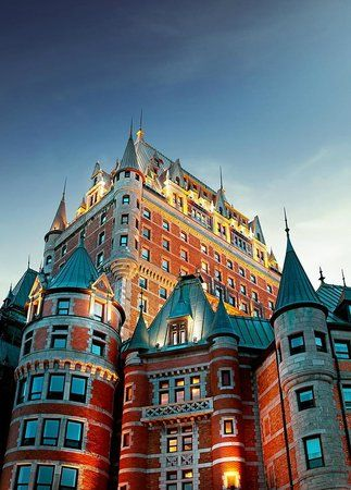 Canada S Castle Hotels Quebec City Castle Hotel Frontenac
