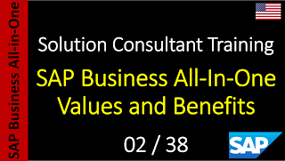 SAP - Course Free Online: 02-38 - SAP Business All-In-One Values and Benefit...