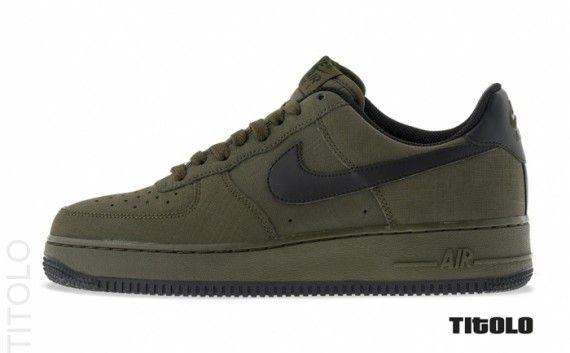 Nike Air Force 1 Low - Dark Loden - Black - SneakerNews.com