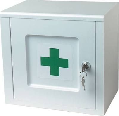 Lockable bathroom medicine ...