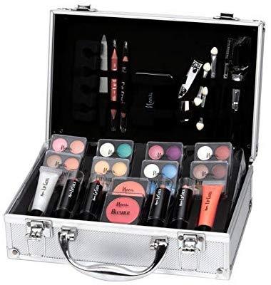Keeva Cosmetics Coffret Maquillage Mallette En Aluminium 52 Pieces Iconic Amazon Fr Beauta C Et Parfum Coffret Maquillage Maquillage Style De Maquillage
