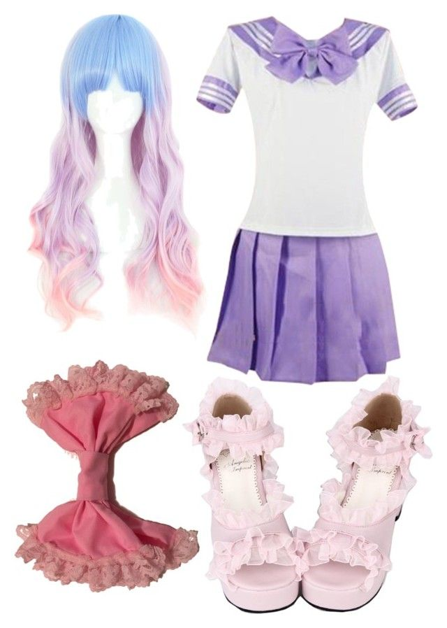 """School Lolita"" by imortalsnail on Polyvore"