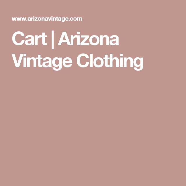 Cart |  Arizona Vintage Clothing