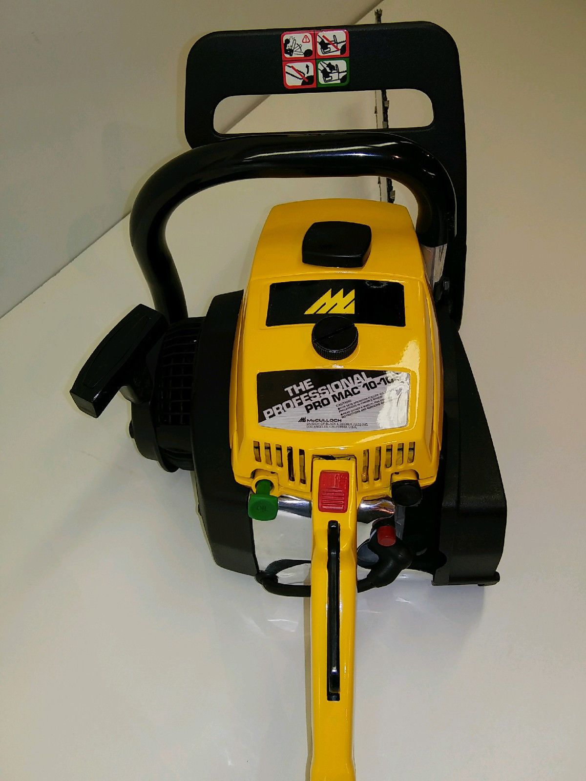 hight resolution of mcculloch pro mac 10 10 s chainsaw ebay