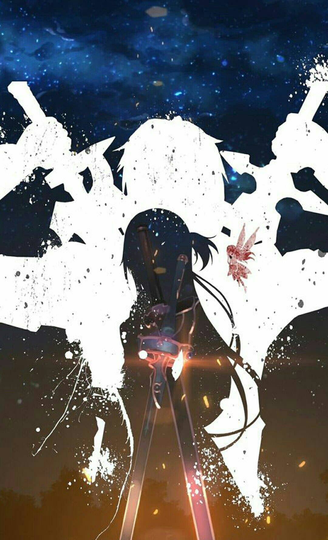 Kirito and Asuna, Sword Art Online SAO Sword art
