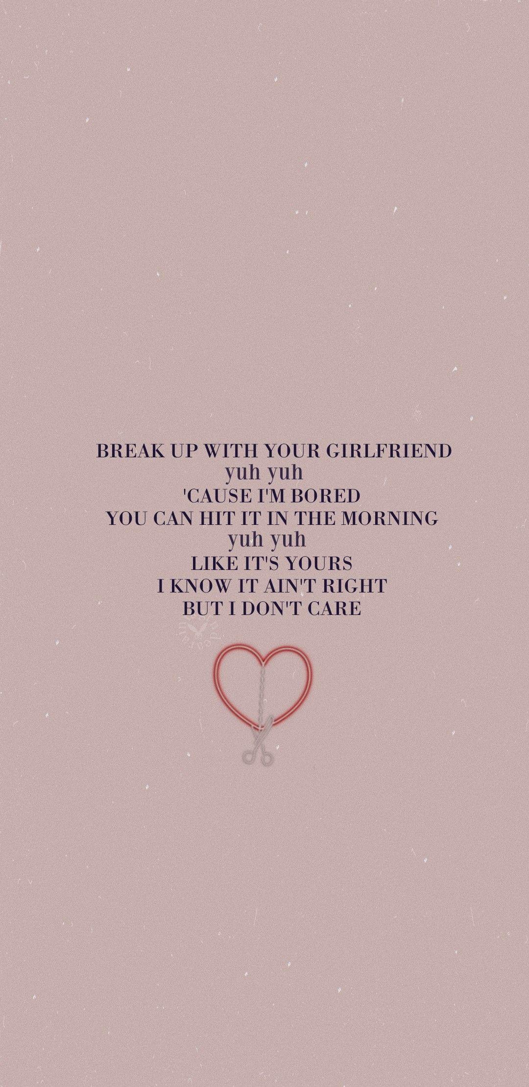 I Don't Care Lyrics Ariana Grande