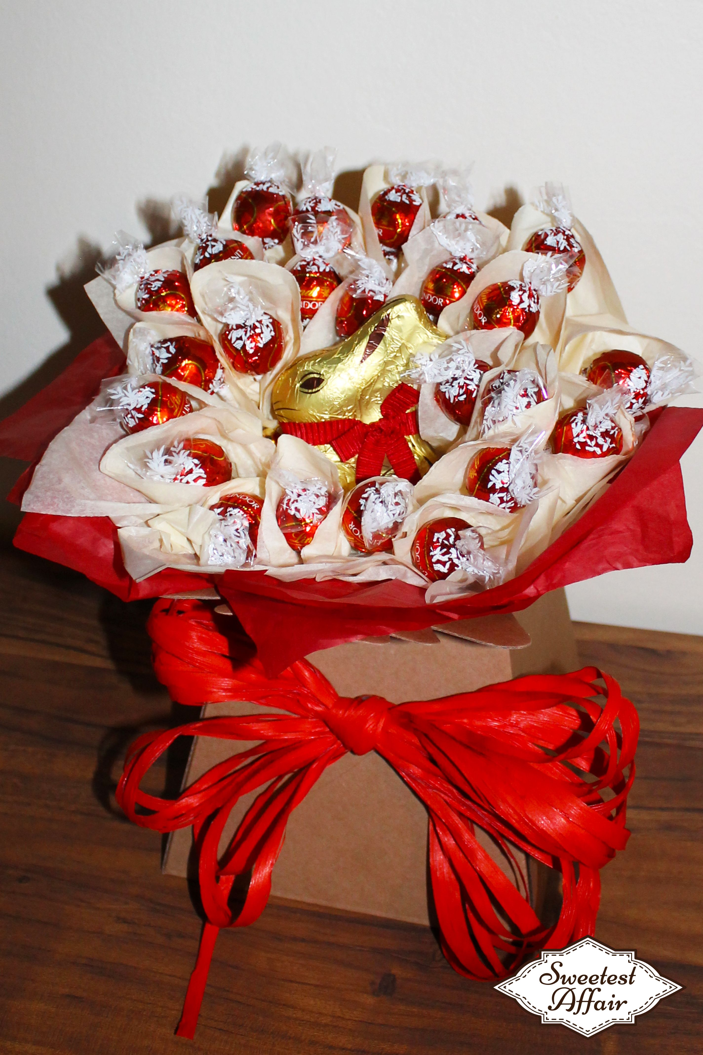 Easter lindt lindor red bunny chocolate truffles bouquet http easter lindt lindor red bunny chocolate truffles bouquet httpebay negle Images