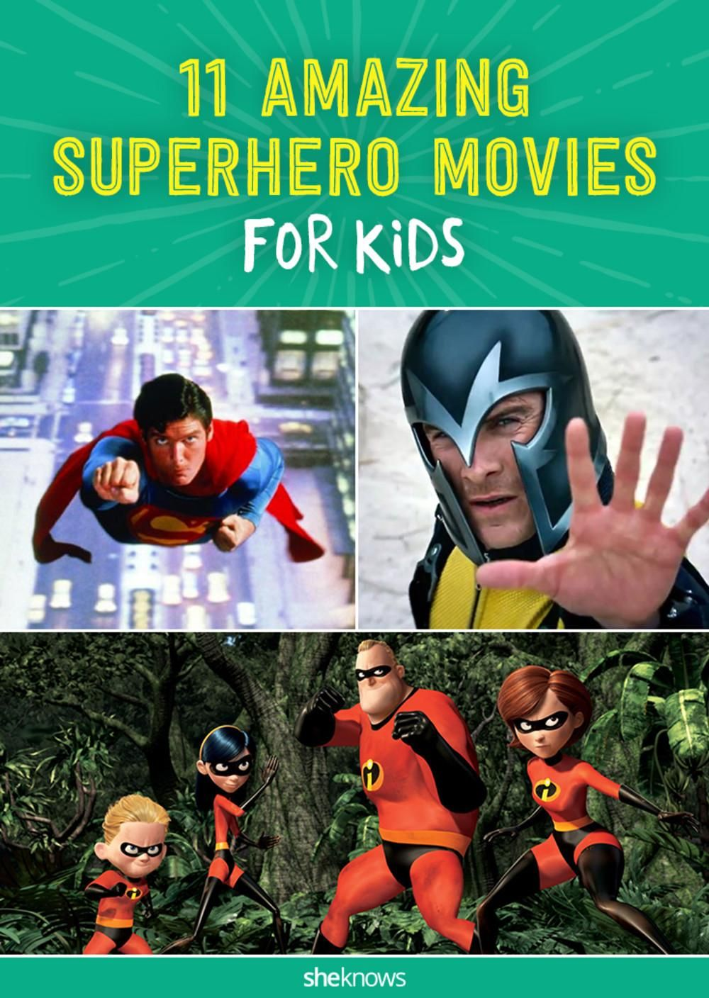 Superhero moves for kids that aren't too scary -- a great list!