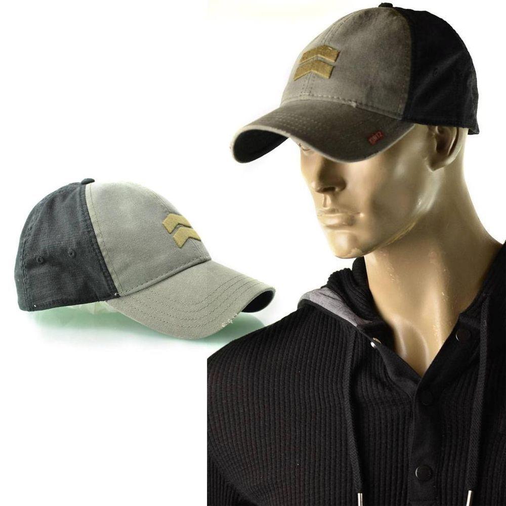 5197d5c9af2 A.Kurtz Hat Mens Jersey Military Trucker Lid Baseball Cap One Size Flex All  NEW