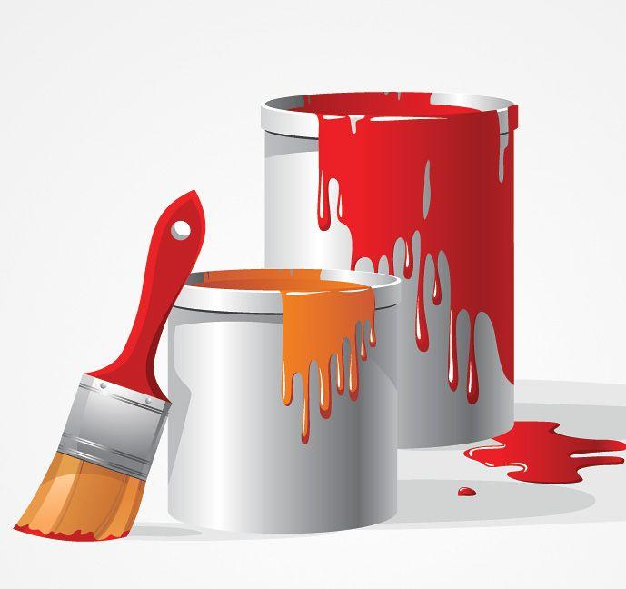 Paint Bucket Brush Vector Clip Art Free Free Vector Archive Decoratie