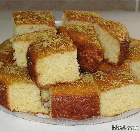 البسيمه بالصور طريقة عمل البسيمة منتدى جدايل Desserts Coconut Cake Food