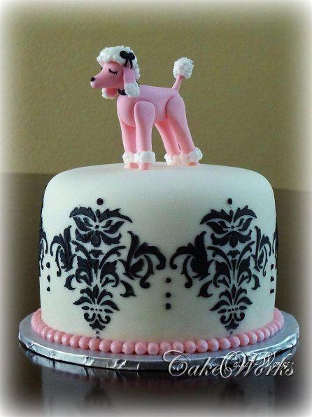 Poodle cake Stuff to Buy Pinterest