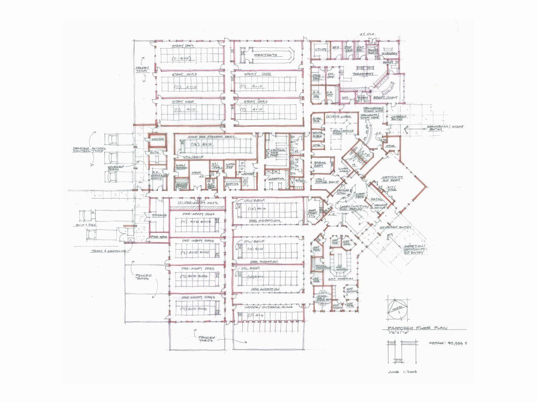 Animal Shelter Floor Plans