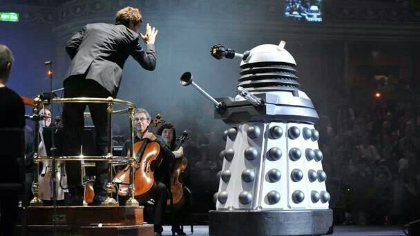 Dr Who at the Proms
