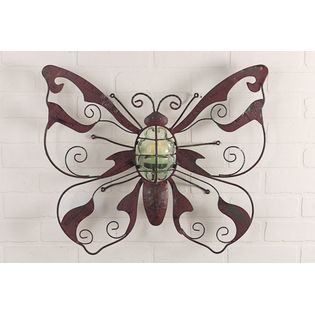These butterfly votive lamps would look great in sun room. Reminds me of searching for fireflies as a child.