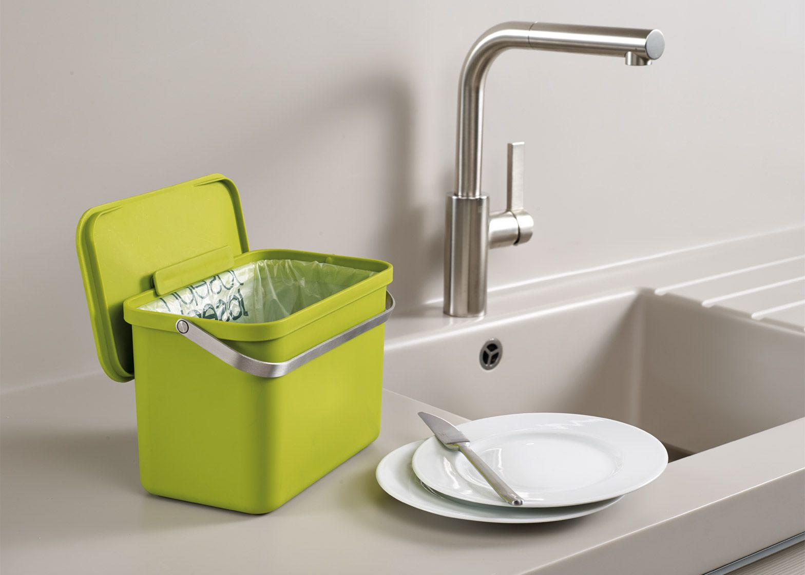 Totem Waste Bin Designed By Pearsonlloyd For Joseph Design Compartment Sink Drain Diagram Pinterest