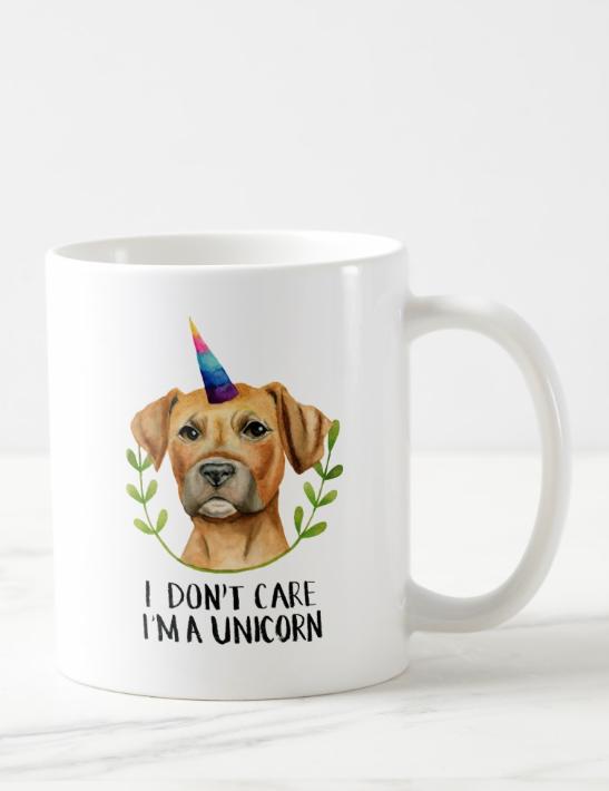 Unicorn Dog Funny Quote Coffee Mug Zazzle Com Dog Quotes Funny Inspirational Pets Funny Dogs