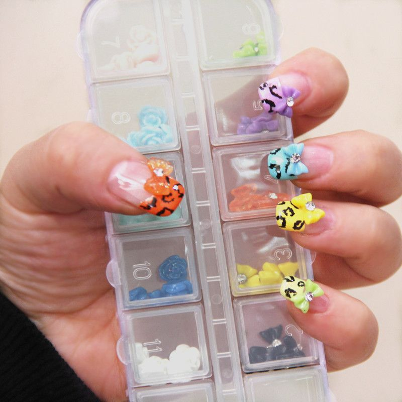 Aliexpress.com : Buy Nail art accessories resin accessories set nail ...