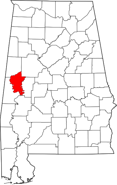 Greene County, created in 1819, was named for
