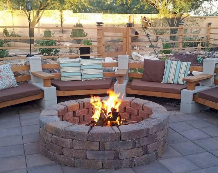 Diy Fire Pit Ideas And Backyard Seating Area 72 Backyard Seating Area Backyard Seating Cozy Backyard