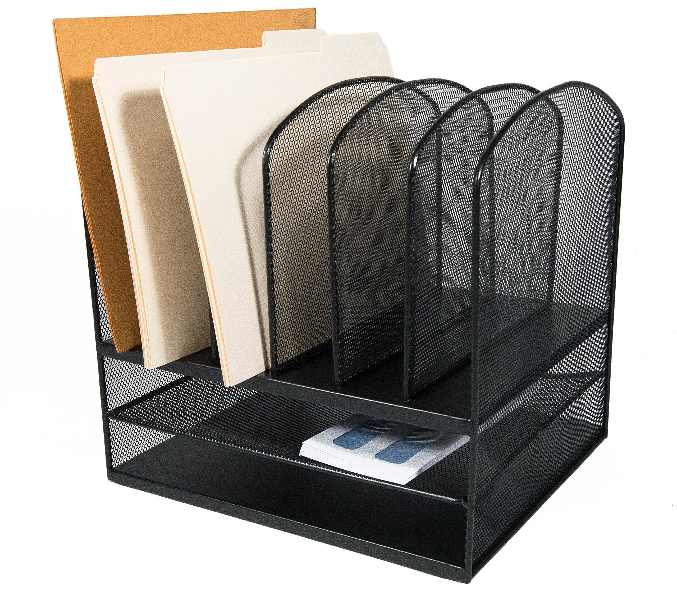 black organizer horizontal depth office home to click x desk organizers paper vertical eofficeproducts file steel supplies width mmf s desktop steelmaster height enlarge compartment