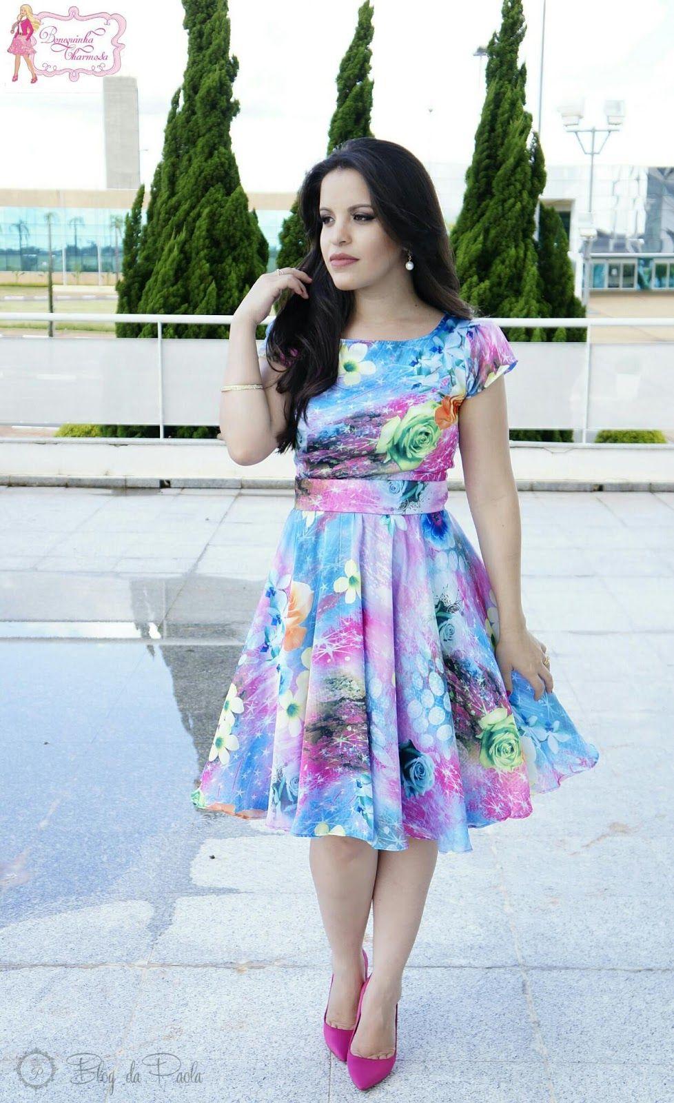aa5e2f1034f Look do Dia  Vestido Lady Like - Bonequinha Charmosa