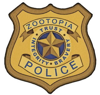 Employment Application Zootopia Police Badge Police
