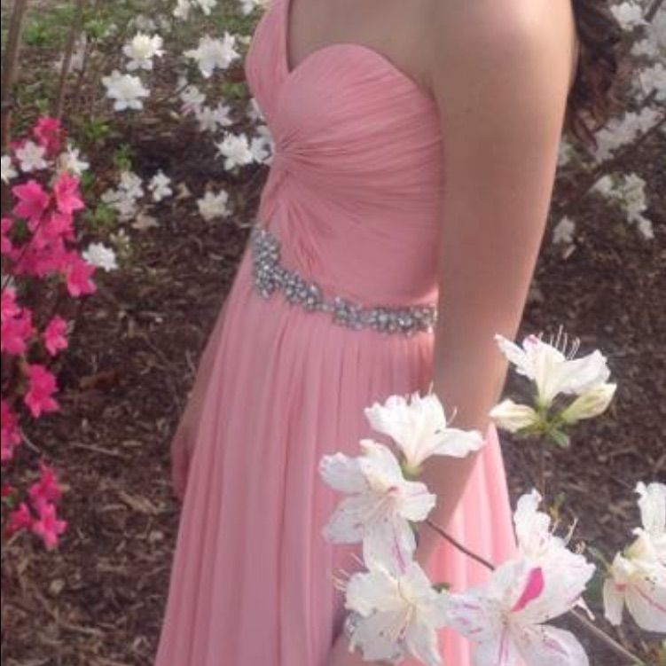 Pastel Pink Formal Gown