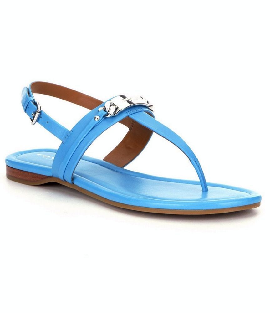 Womens Sandals COACH Caterine Azure