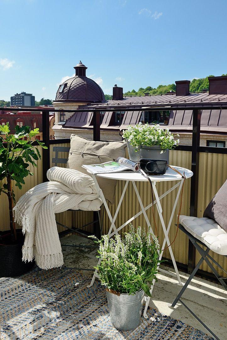   Alvhem Mäkleri och Interiör   Balkon, Süße ideen, Idee on Bade Outdoor Living id=18021