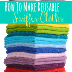 How To Make Reusable Swiffer Cloths *Get more FRUGAL Articles, tips and tricks from Raining Hot Coupons here* REPIN it HERE! How To Make Reusable Swiffer Cloths The Swiffer has become a well known household tool in the last few years. It does a great job keeping our floors clean and keeping dust out of […]