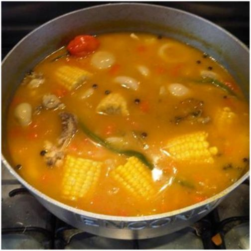 caribbean food chicken foot soup  recipes to cook in