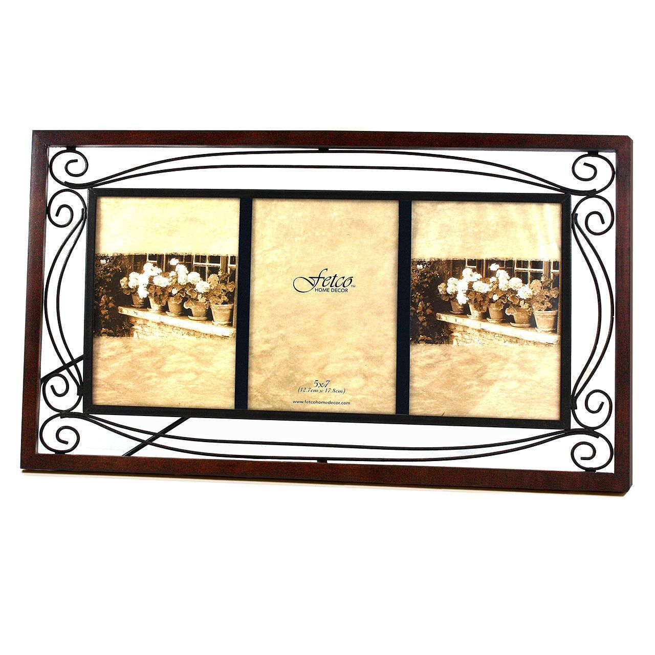 Fleming triple picture frame products pinterest products fetco home decor collington frame tuscan bronze jeuxipadfo Gallery