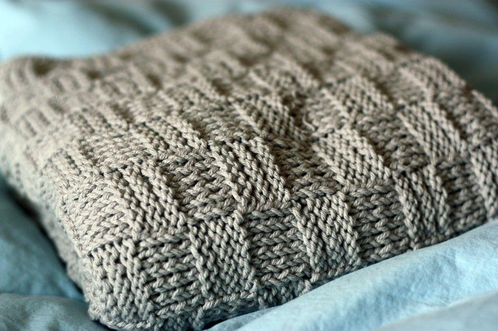 Knit Blanket Patterns Knitting Pinterest Blanket Knitting