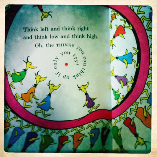 Dr Seuss Quotes Oh The Thinks You Can Think: Oh The Thinks You Can Think! -my Favorite Dr Seuss Book