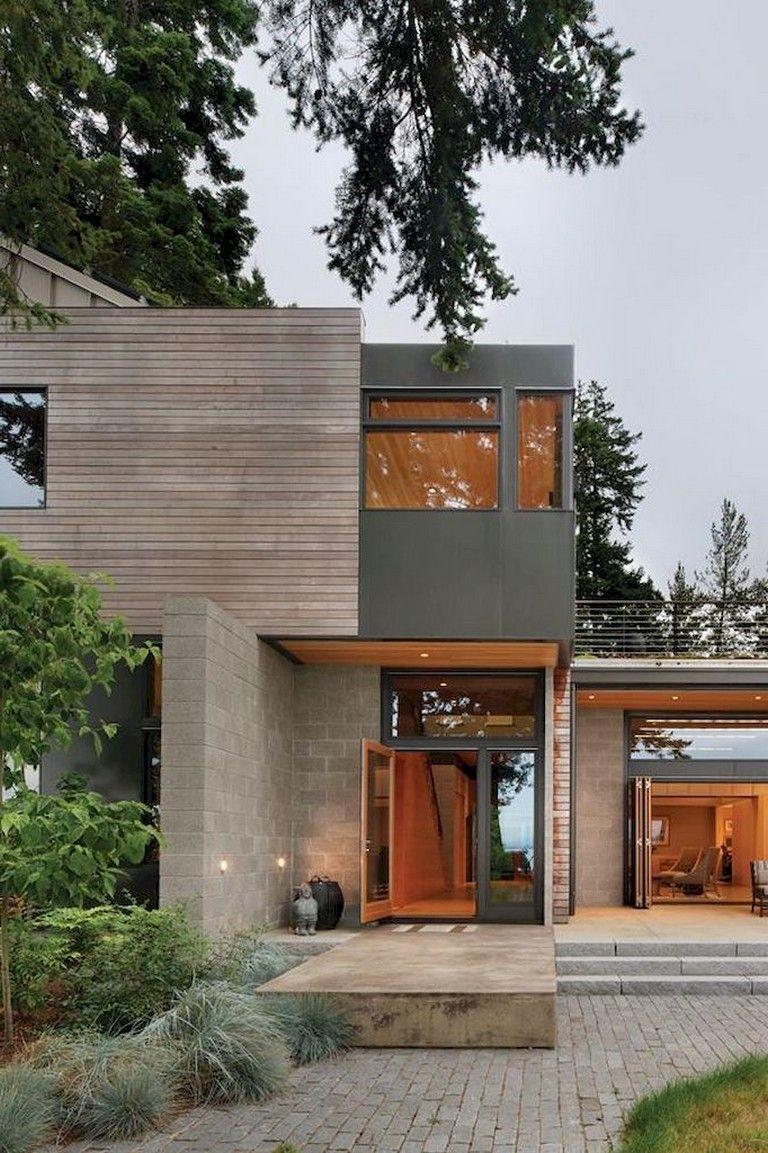71 Contemporary Exterior Design Photos: 71+ Smart Designs Features Maximize Space Attic Apartment In 2020