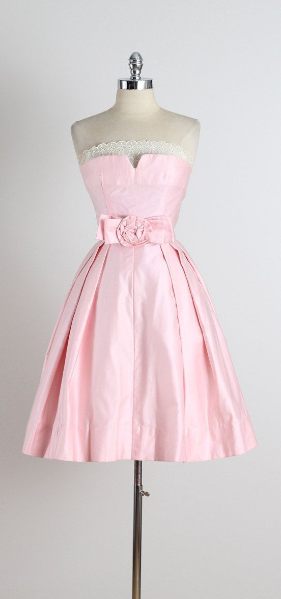 Pink Vintage Dress
