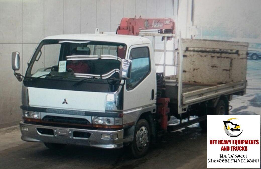 JAPAN SURPLUS CANTER BOOM TRUCK FOR SALE MAKE & MODEL